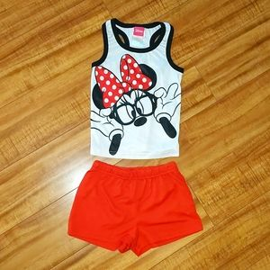 Minnie Mouse Summer Outfit